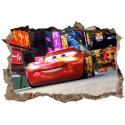 Stickers 3D Cars réf 52498