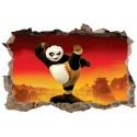 Stickers 3D Kung Fu Panda réf 52500