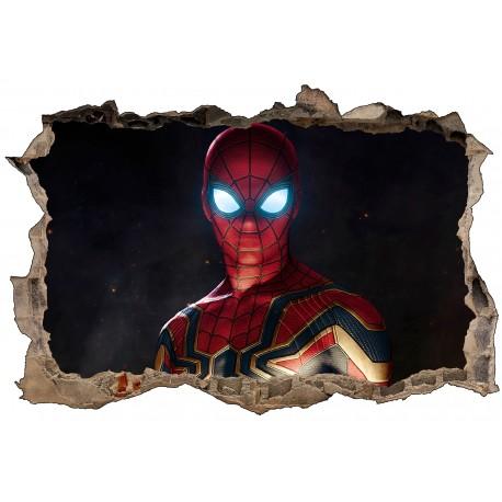 Stickers 3D Spiderman réf 52502