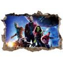 Stickers 3D Les Gardiens de la Galaxie réf 52503