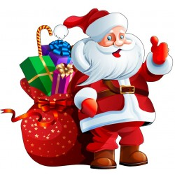 Sticker Père Noël ref 4624