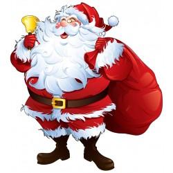 Sticker Père Noël ref 4622