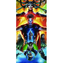 Stickers ou papier peint lé unique Thor