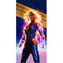 Stickers ou papier peint lé unique Captain Marvel