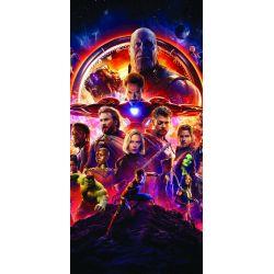 Stickers ou papier peint lé unique Avengers
