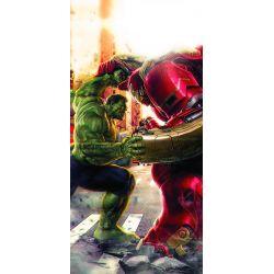 Stickers ou papier peint lé unique Hulk Vs Hulk Avengers