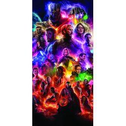 Stickers ou papier peint lé unique Tous les Avengers