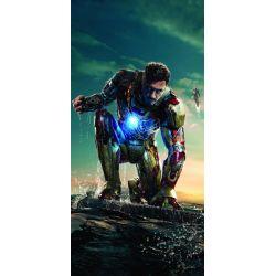 Stickers ou papier peint lé unique Iron Man
