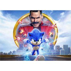 Stickers muraux géant Sonic le film