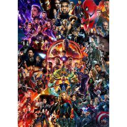 Stickers muraux géant Avengers