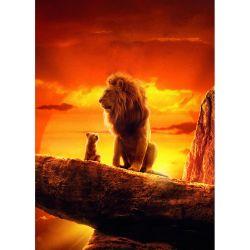 Stickers muraux géant Le roi lion