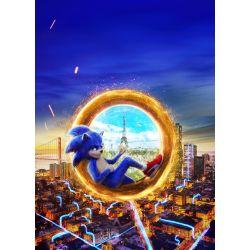 Stickers muraux géant Sonic