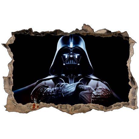 Stickers 3D Dark Vador Star Wars
