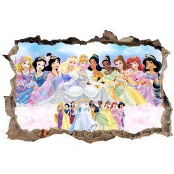 Stickers 3D Princesse