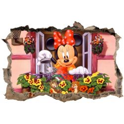Stickers 3D Minnie