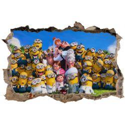 Stickers 3D Les Minions