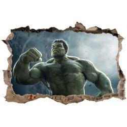 Stickers 3D Hulk