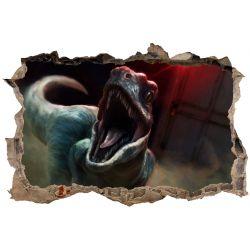 Stickers 3D Dinosaure Jurasik Park