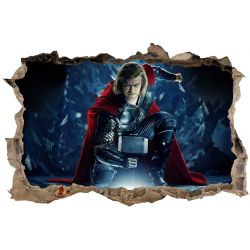 Stickers 3D Thor
