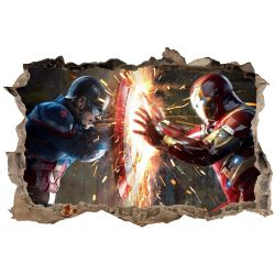 Stickers 3D Avengers