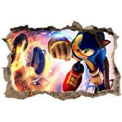 Stickers 3D Sonic