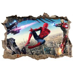 Stickers 3D Spiderman