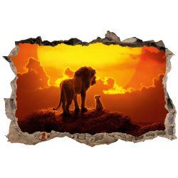 Stickers 3D Le roi lion
