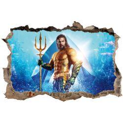 Stickers 3D Aquaman