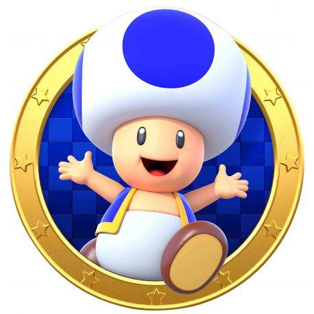 Sticker hublot Mario
