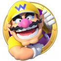 Sticker hublot Mario Wario