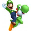 Sticker enfant Mario Luigi