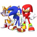 Stickers Sonic et ses amis