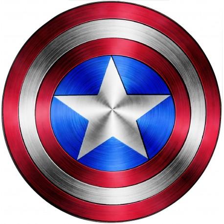 Stickers Bouclier Captain America Avengers 15075