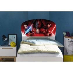 Stickers tête de lit chambre d'enfant Star Wars