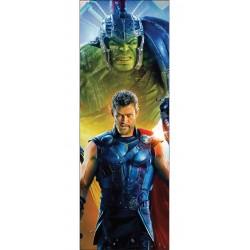 Stickers porte Thor ou papier peint porte