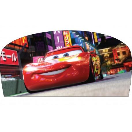 Stickers tête de lit chambre d'enfant Cars