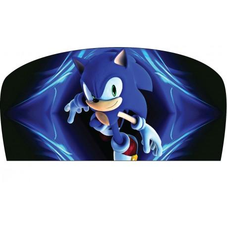 Stickers tête de lit chambre d'enfant Sonic