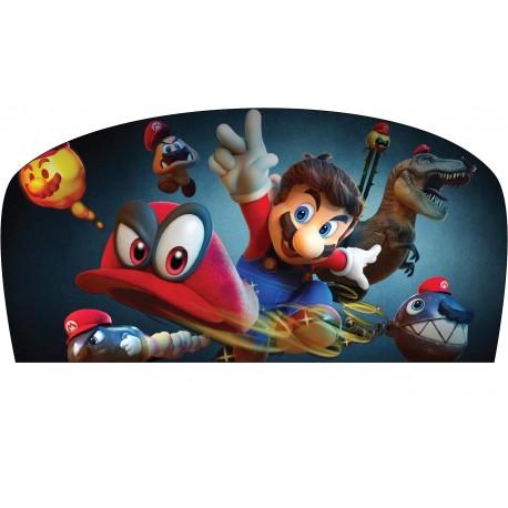 Stickers tête de lit chambre d'enfant Mario