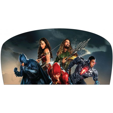 Stickers tête de lit chambre d'enfant Super Héros