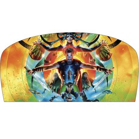 Stickers tête de lit chambre d'enfant Thor