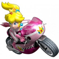 Stickers Mario Princesse Peach réf 15084