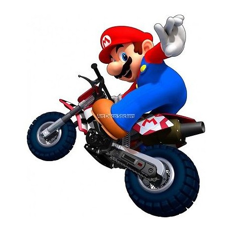 Stickers Mario Moto 15082