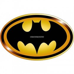Stickers Logo Batman réf 15080