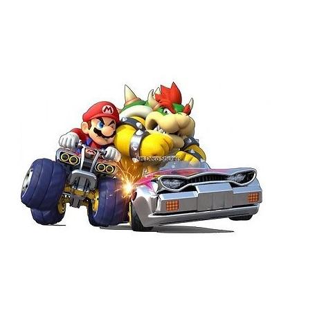 Stickers Mario Kart réf 15069
