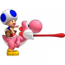 Stickers Mario Yoshi Toad réf 15066