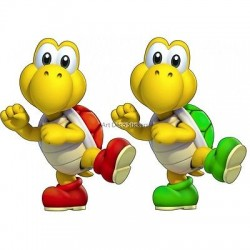 stickers Mario Koopa troopa réf 15064