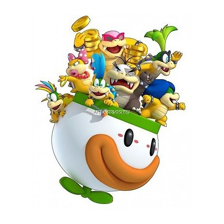 Stickers Koopalings Super Mario 15062