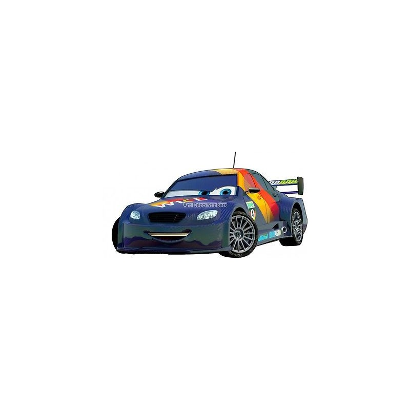 Stickers autocollant disney cars r f 15057 stickers for Autocolant mural
