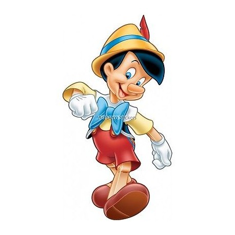 Stickers Pinochio géant 15042
