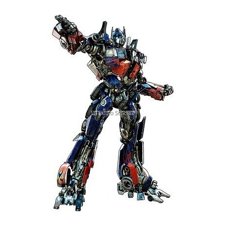 Stickers Optimus Transformers 15050